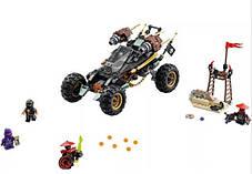 Конструктор Lepin серия NINJA / Ниндзя 06032 Земляной Внедорожник Коула (аналог Lego Ninjago 70589), фото 3