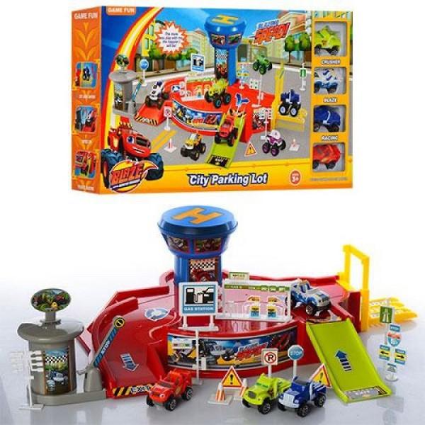 Игровой набор Парковка гараж Вспыш 828-58