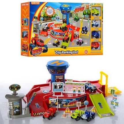 Игровой набор Парковка гараж Вспыш 828-58, фото 2