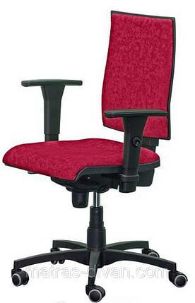 Кресло Маск LB (низкая спинка) ткань Розана красный, фото 2