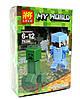 Конструктор Lele серия My World 79286 8 видов (аналог Lego Майнкрафт, Minecraft), фото 4