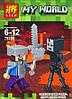 Конструктор Lele серия My World 79286 8 видов (аналог Lego Майнкрафт, Minecraft), фото 5