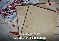 Заготовка для обложки из дерева