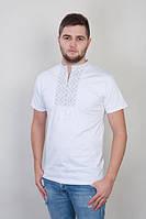 Мужская вышатая футболка