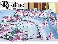 Комплект постельного белья 3D Restline 106 Дикая Орхидея 150*215 (Полуторный)