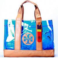Женская сумка Tory Burch синяя, фото 1