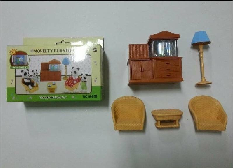Набор мебели Гостиная для флоксовых животных 8016B