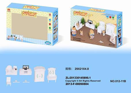 Гостиная для флоксовых животных Happy Family 012-11B (аналог Sylvanian Families), фото 2
