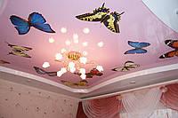 Фотопечать на потолках натяжных