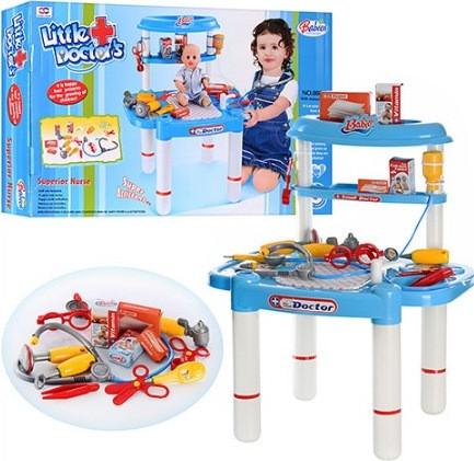 Ігровий набір Доктор зі столиком і поличками 008-03