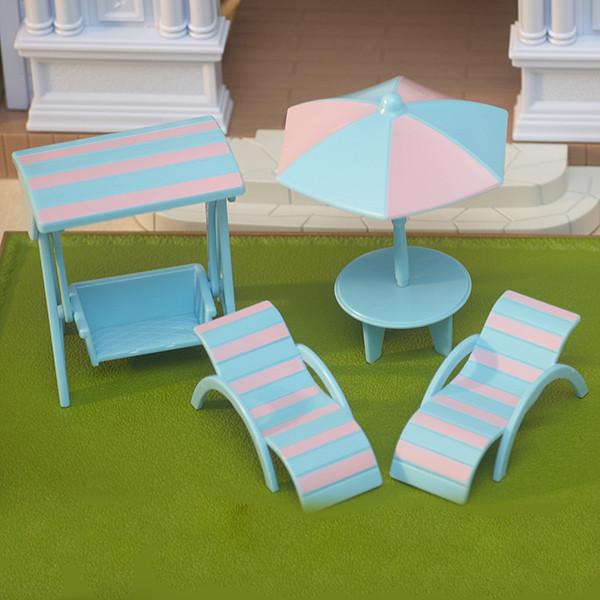Набор пляжной мебели Happy Family 012-12B (аналог Sylvanian Families)