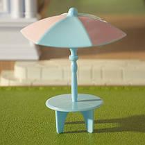 Набор пляжной мебели Happy Family 012-12B (аналог Sylvanian Families), фото 2