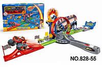 Игровой набор Большой Трек Вспыш и Чудо-машинки 828-55