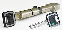 Цилиндр Mul-t-lock MT5+ 100мм (60х40T) ключ-тумблер никель-сатин