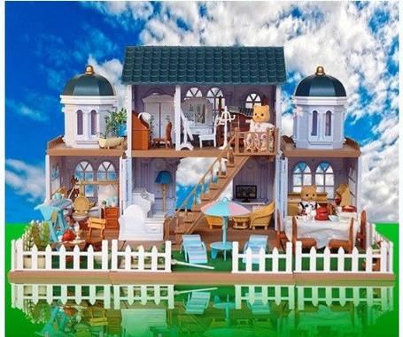 Домик Happy Family 012-11 (аналог Sylvanian Families) Вилла, фото 2