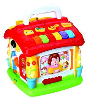 Розвиваюча музична іграшка-логіка 9149 Говорить будиночок, фото 2