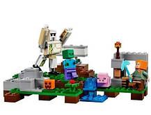 Конструктор Lepin 18001 Железный Голем (аналог Lego Майнкрафт, Minecraft 21123), фото 2