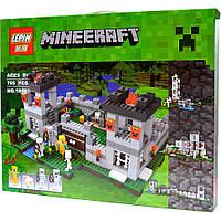 Конструктор Lepin серия Minecraft 18005 Крепость (аналог Lego Майнкрафт, Minecraft 21127)