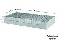 Фильтр салона MB W164 | 251 (угольный) KNECHT LAK295S на MERCEDES-BENZ R-CLASS (W251, V251)