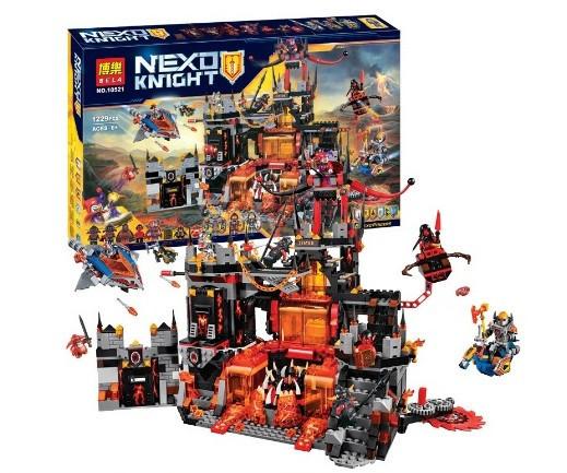 Конструктор Bela 10521 Вулканическое логово Джестро (Аналог Lego Nexo Knights 70323)