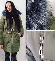 Женская пальто-куртка  зима Alaska