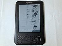 Электронная книга Amazon Kindle Keyboard (Битый экран)