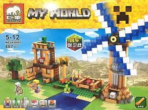 Конструктор Elephant серия My World JX30005 (аналог Lego Minecraft / Майнкрафт), фото 2