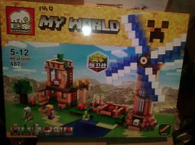 Конструктор Elephant серия My World JX30005 (аналог Lego Minecraft / Майнкрафт), фото 3