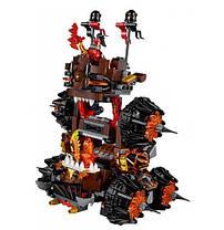 Конструктор Bela Nexo Knight 10518 Осадная машина генерала Магмара (Аналог Lego Nexo Knights 70321), фото 2