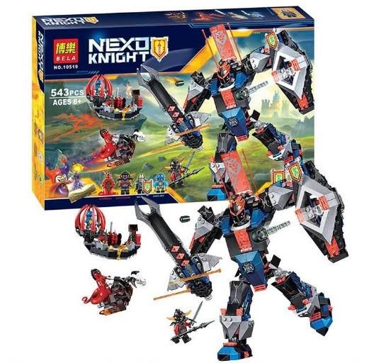 Конструктор Bela серия Nexo Knight 10519 Робот Черного рыцаря (Аналог Lego Nexo Knights 70326)