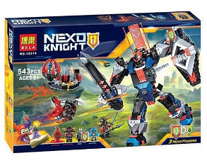 Конструктор Bela серия Nexo Knight 10519 Робот Черного рыцаря (Аналог Lego Nexo Knights 70326), фото 2