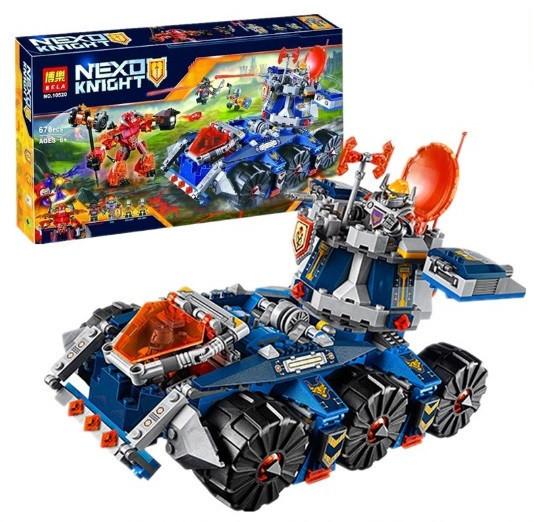 Конструктор Bela Nexo Knight 10520 Боевая башня Акселя (Аналог Lego Nexo Knights 70322)