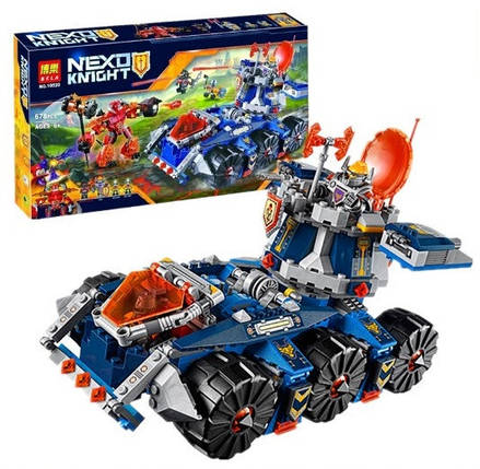 Конструктор Bela Nexo Knight 10520 Боевая башня Акселя (Аналог Lego Nexo Knights 70322), фото 2