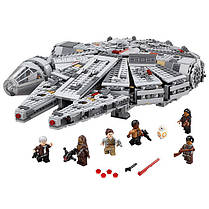 Конструктор Lele серия Star Wart 79211 Сокол Тысячелетия (аналог Lego Star Wars 75105), фото 3