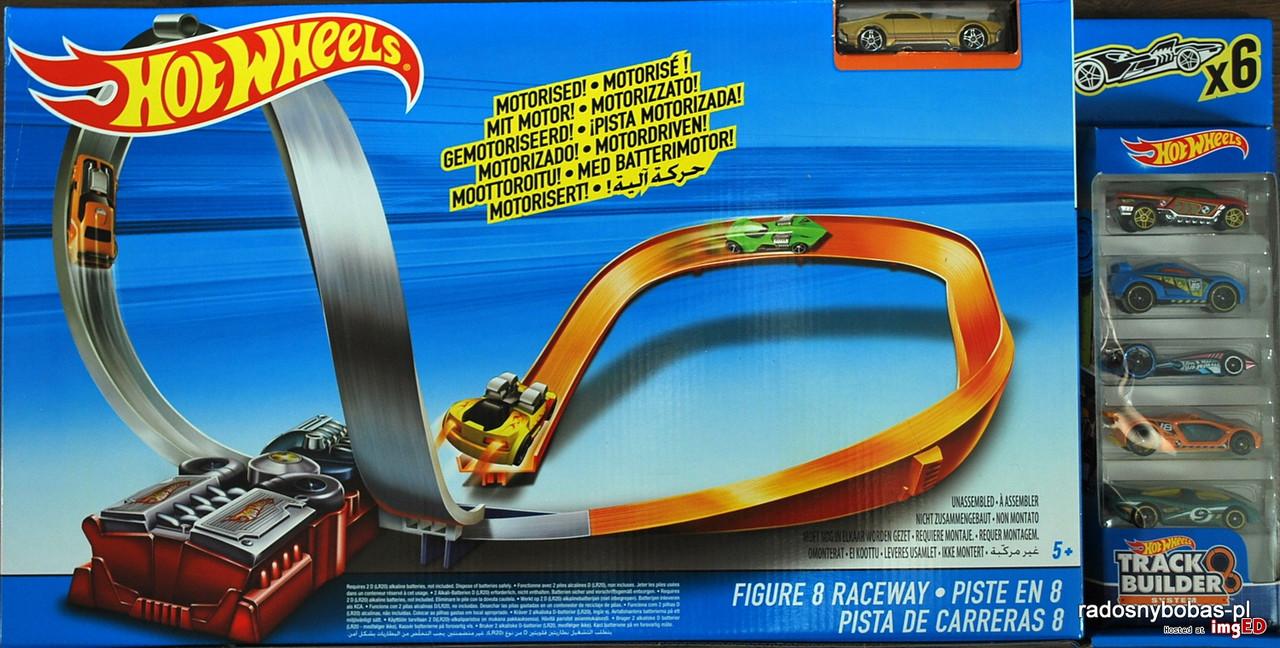 Hot Wheels  Ігровий трек  Гоночна траса і 6 машинок (Гоночная трасса и 6 машинок)