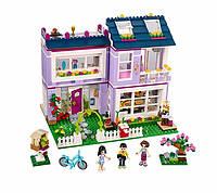 Конструктор Bela серия Friends / Подружки 10541 Домик Эммы (аналог Lego Friends 41095)