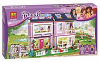 Конструктор Bela 10541 Френдс Домик Эммы (аналог Lego Friends 41095)