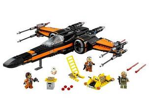 Конструктор Bela 10466 Звездные войны Истребитель По (аналог Lego Star Wars 75102), фото 2