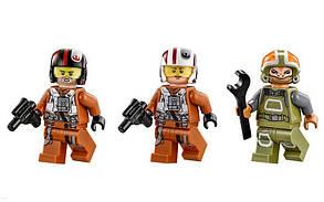 Конструктор Bela 10466 Звездные войны Истребитель По (аналог Lego Star Wars 75102), фото 3