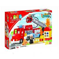 Конструктор Пожарная машина JDLT 5152