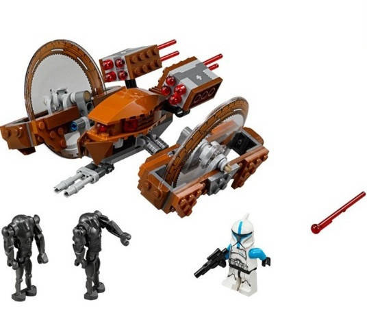 Конструктор Bela серия Space Wars 10370 Дроид поддержки (аналог Lego Star Wars 75085), фото 4