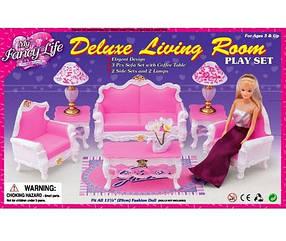 Мебель Gloria для кукол 2317 Гостиная