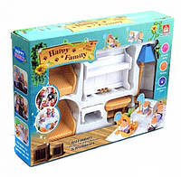Набор мебели для флоксовых животных Happy Family 012-08B (аналог Sylvanian Families)