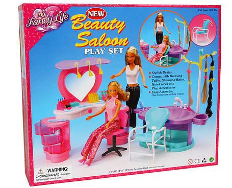Мебель Gloria для кукол 2509 Салон красоты, фото 2