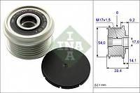 Шків генератора Doblo 1.3 D Multijet 10> | Combo 1.3CDTI INA 535015110 на FIAT PUNTO EVO (199)