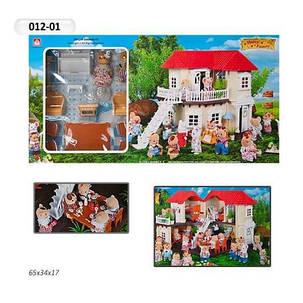 Домик  Happy Family 012-01 Животные флоксовые (аналог Sylvanian Families), фото 2
