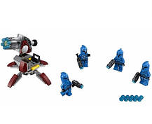 Конструктор Bela серия Space Fights 10367 Солдаты - коммандос Сената (аналог Lego Star Wars 75088), фото 2