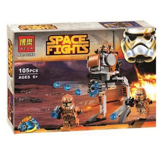 Конструктор Bela серия Space Fights 10368 Джеонозианские воины (аналог Lego Star Wars 75089)