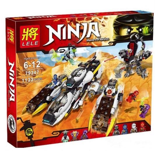 Конструктор Lele 79347 Ультра стелс рейдер (аналог Lego Ninjago 70595)