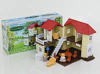 Игровой домик ZYB-B 0560 Zhorya флоксовые животные Семейная усадьба (аналог Sylvanian Families)